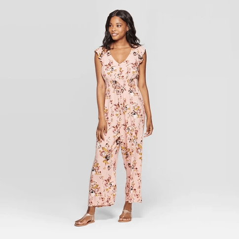 Farmhouseish - Floral Fall Jumpsuit
