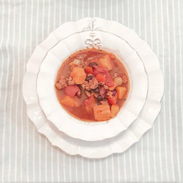 Farmhouseish - Sweet Potato Chili Recipe