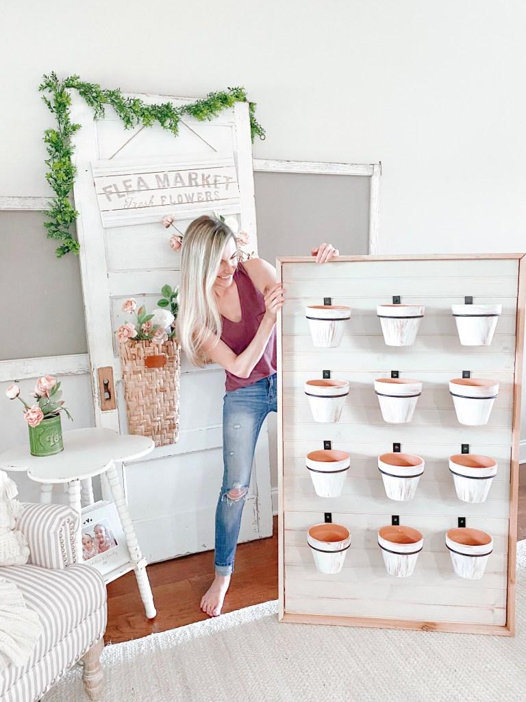 Farmhouseish - DIY Succulent Wall Planter