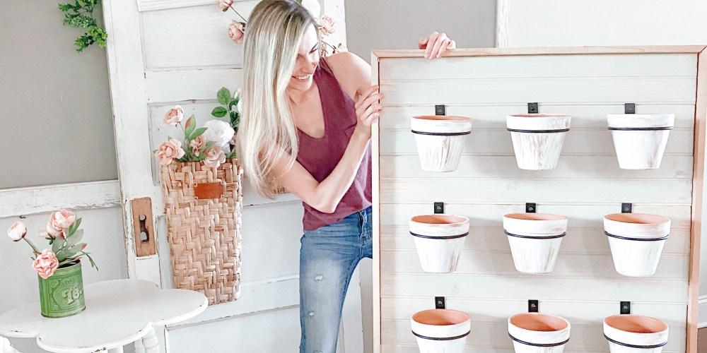 Farmhouseish - Succulent Wall Planter