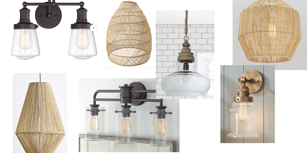 Farmhouseish - Light Fixtures