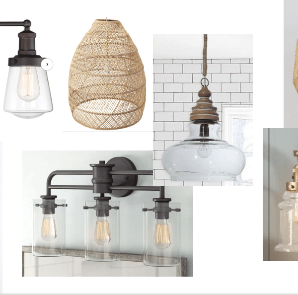Farmhouse, Boho, Industrial Light Fixtures To Help Your Home Feel Intentionally Designed