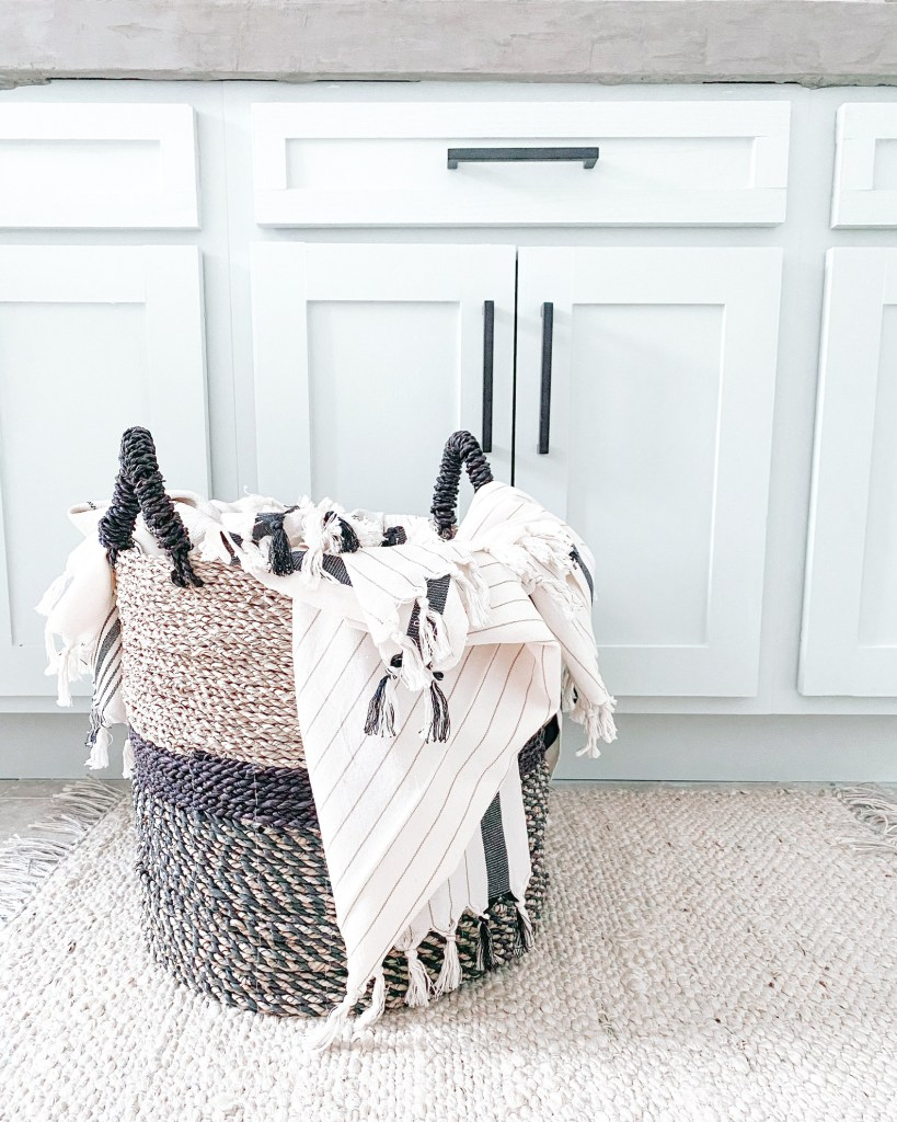 Farmhouseish - Olive and Linen Turkish Towels