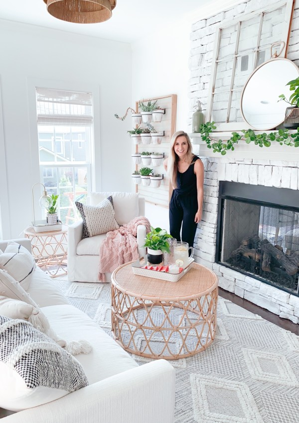 How I Gave Our Sunroom A Summer Makeover With The Help Of Walmart