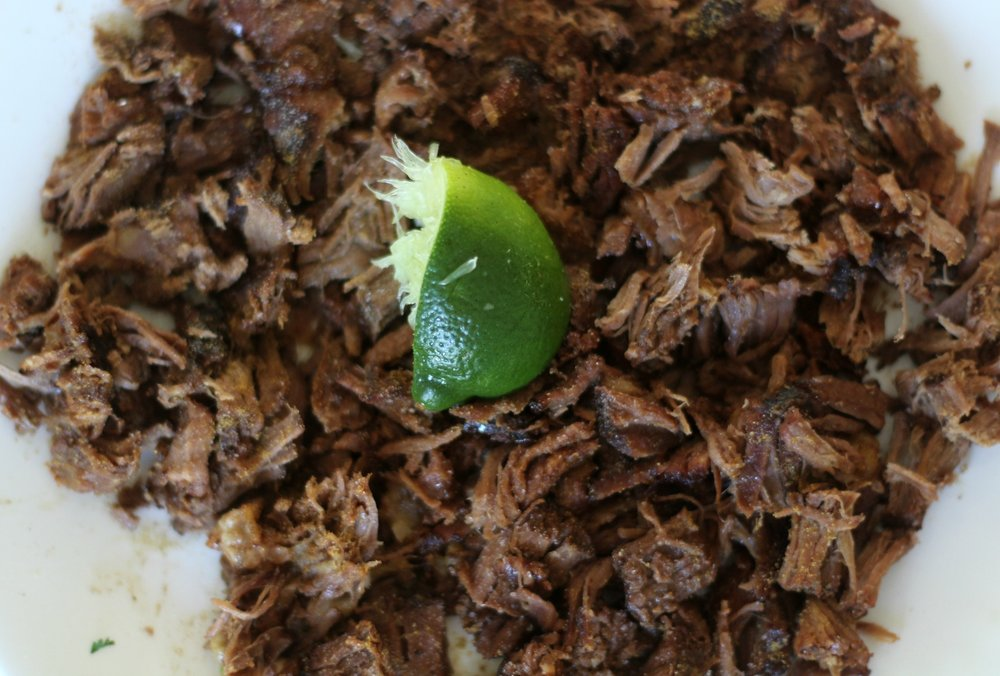 mexican hash pulled beef