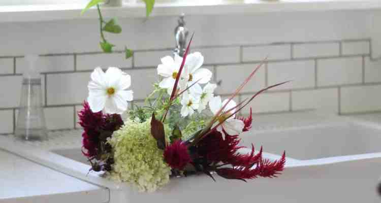 An Early Fall Flower Arrangement