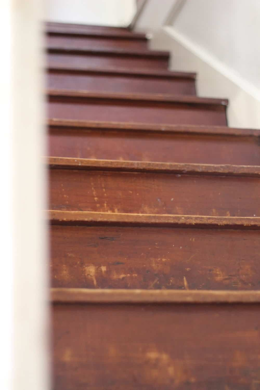 How To Hardwood Stairs Hardwood Stairs Makeover With Annie Selkes Dash And Albert