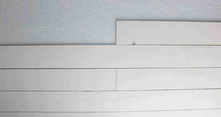 How to Plank a Popcorn Ceiling with Plywood