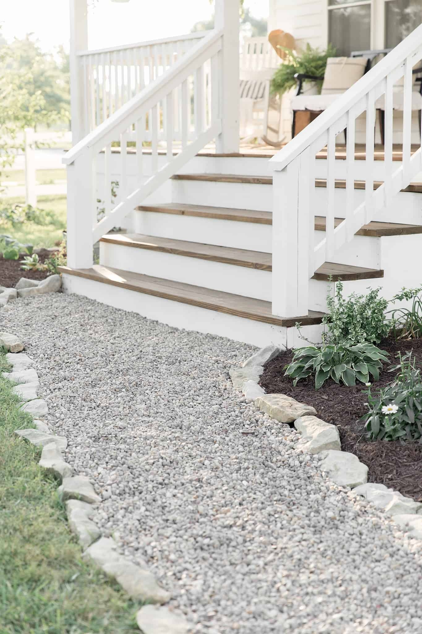 How To Cover Concrete Steps With Wood Farmhouse On Boone   Putting Wood Over Concrete Steps   Wood Flooring   Front Porch   Building   Flooring   Composite Decking