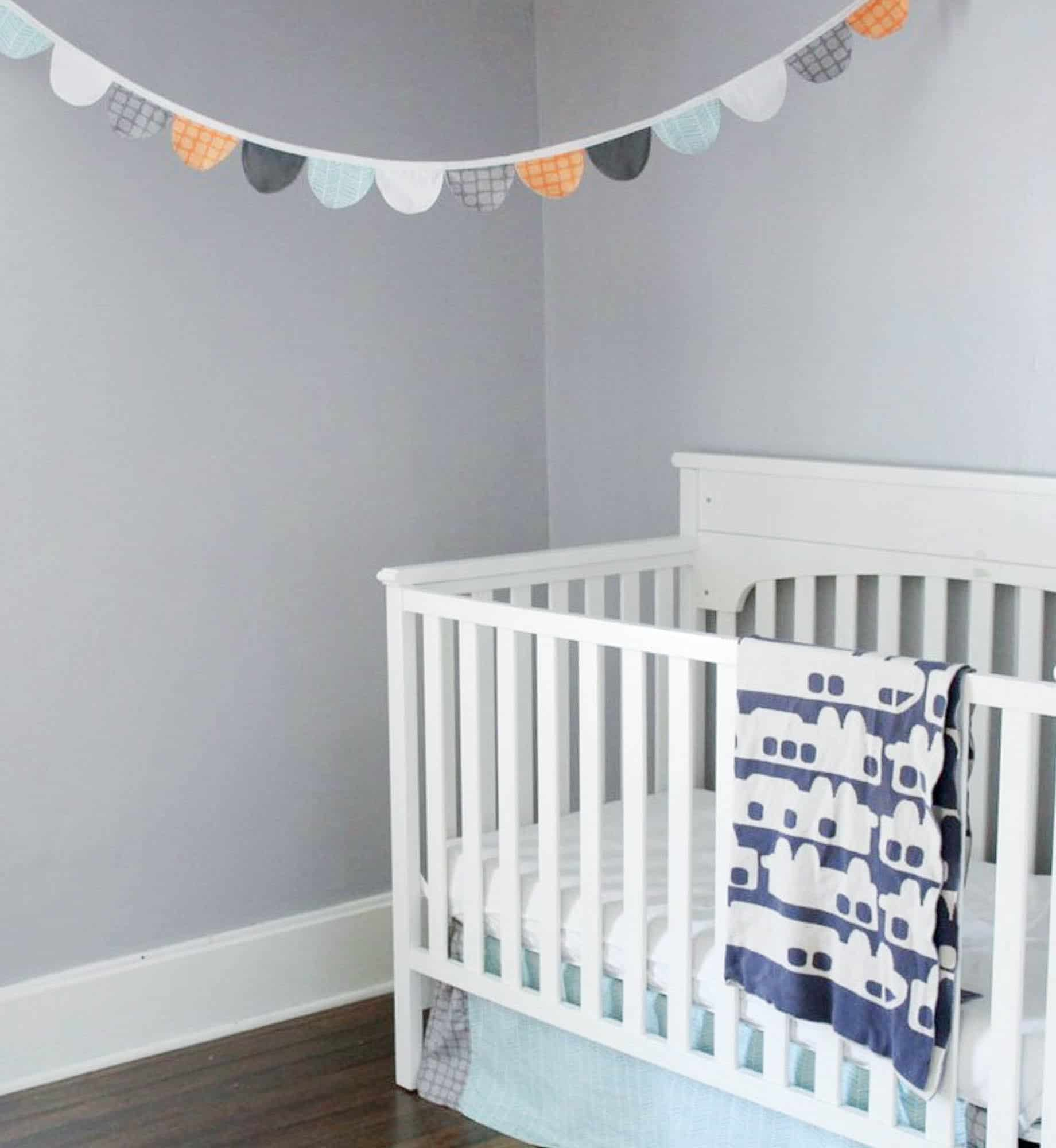 How to make fabric bunting for children 39 s room farmhouse for Fabric for boys room