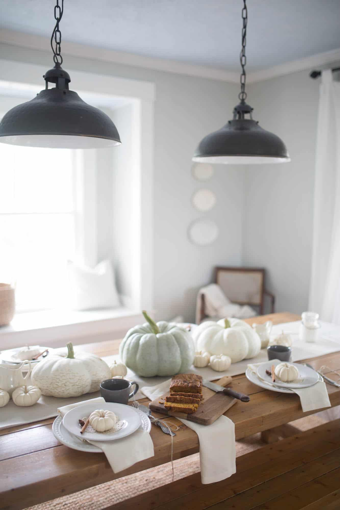 Cozy and Neutral Farmhouse Fall Home Tour with Farmhouse on Boone