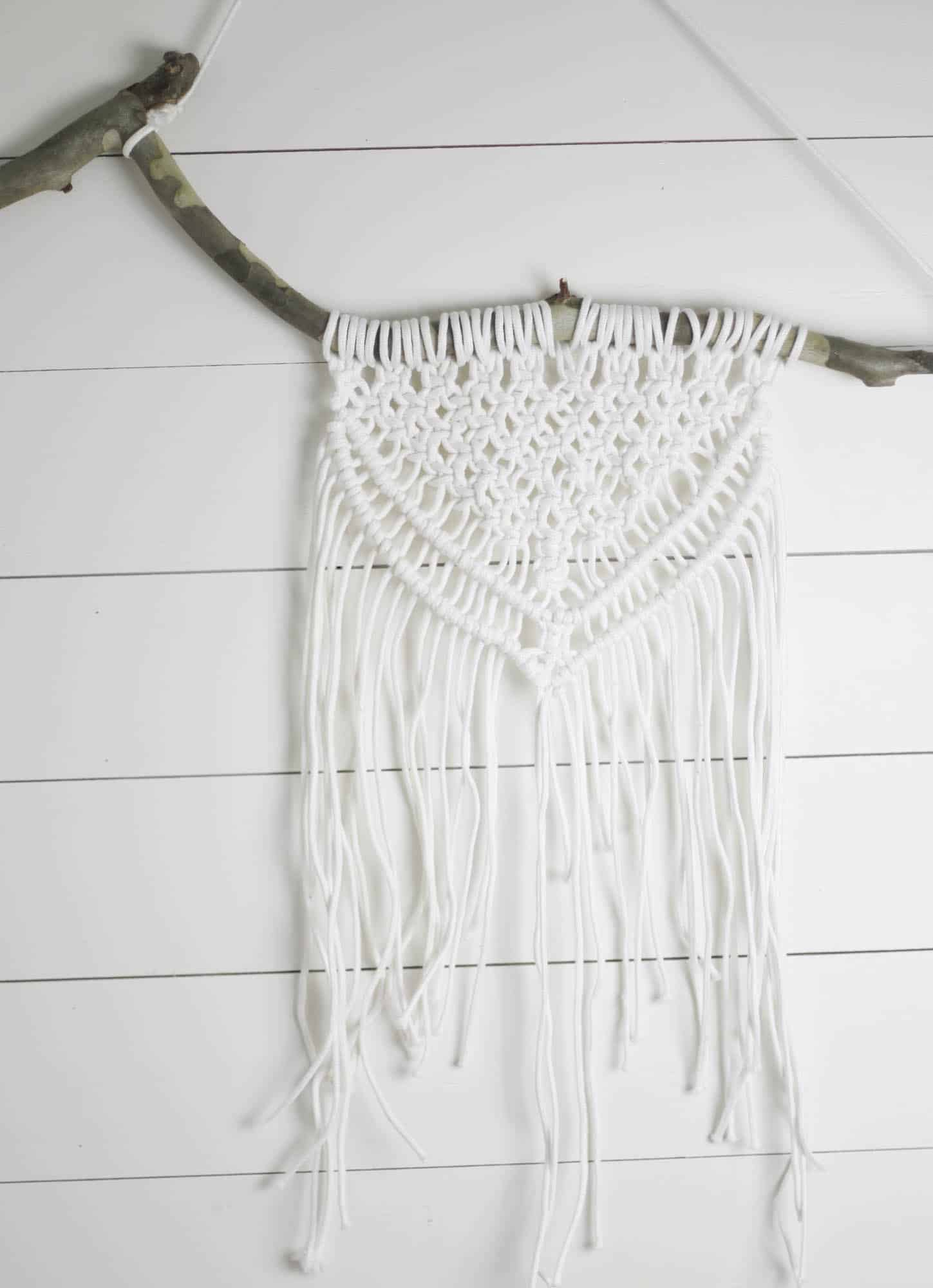 Macrame Wall Hanging DIY Tutorial with Video