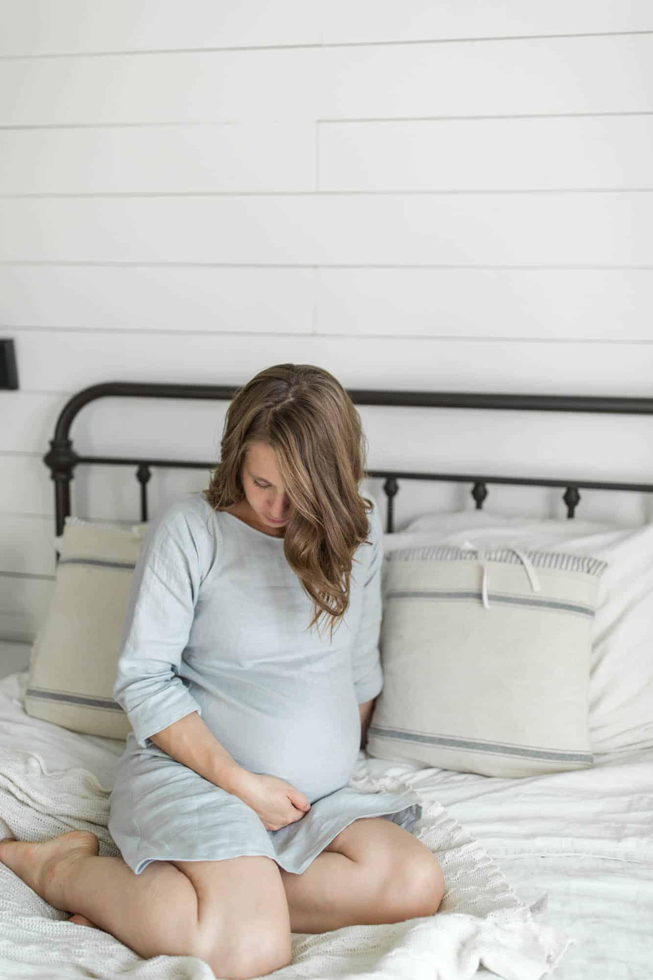 DIY Linen Maternity Dress How to Make a Dress Video Tutorial