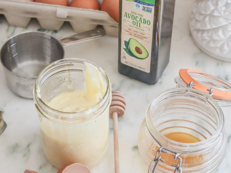 Homemade Mayo with Avocado Oil