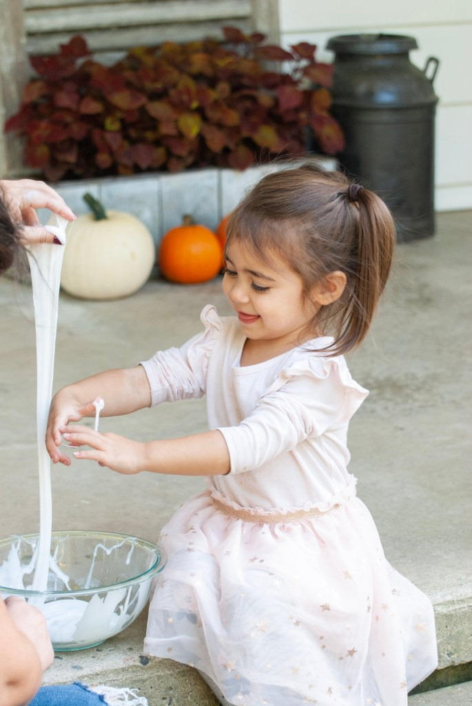 DIY Slime for Kids with Essential Oils