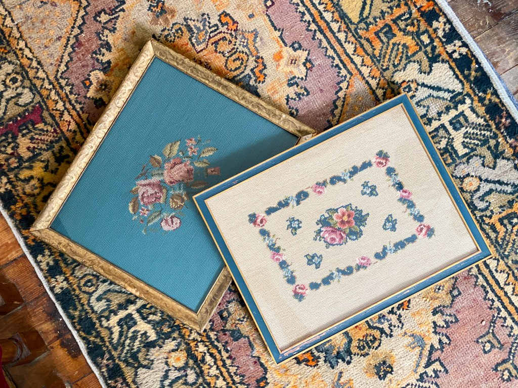 antique needlepoint