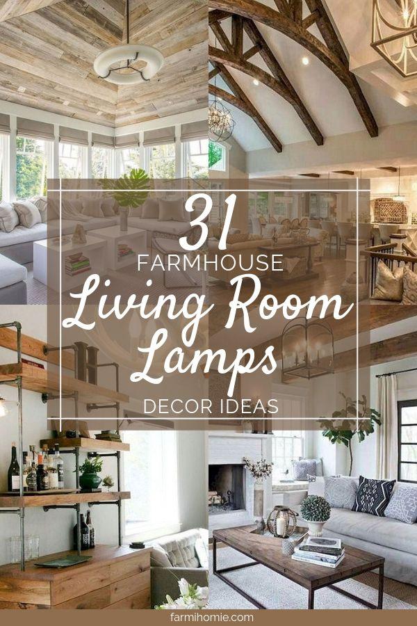 31 farmhouse living room lamps design