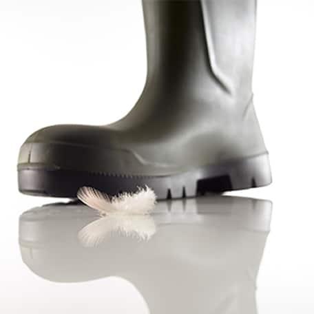 botas de poliuretano industrias