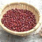 収穫した小豆でおはぎ作りました。