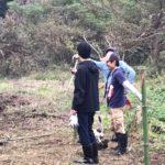 桜(八重桜)を植樹する場所が綺麗に!!ー達成感ー