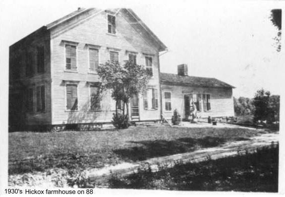 Elbert Hickox farmhouse