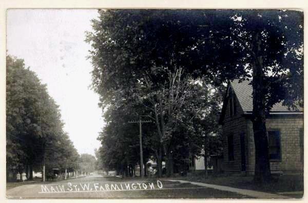 Main Street, West Farmington