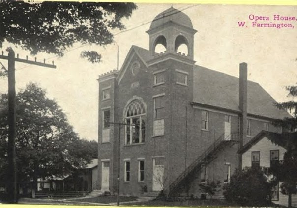 Opera House, West Farmington, another view