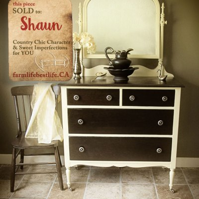 A charming dresser, for the most charming girl!