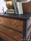 Antique Chiffonier Dresser w/ Swivel Mirror