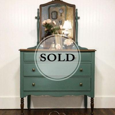 Heart Fluttering Vintage Dresser Love