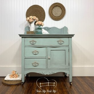 June 2019 ~ Fancy Frock Washstand
