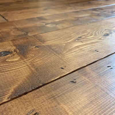 DIY Rustic Farmhouse Wood Flooring