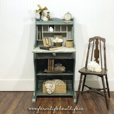 Farmhouse Chic Bureau