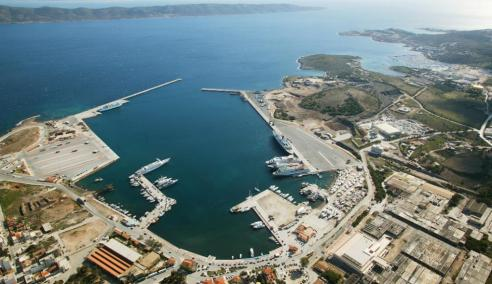Lavrion port