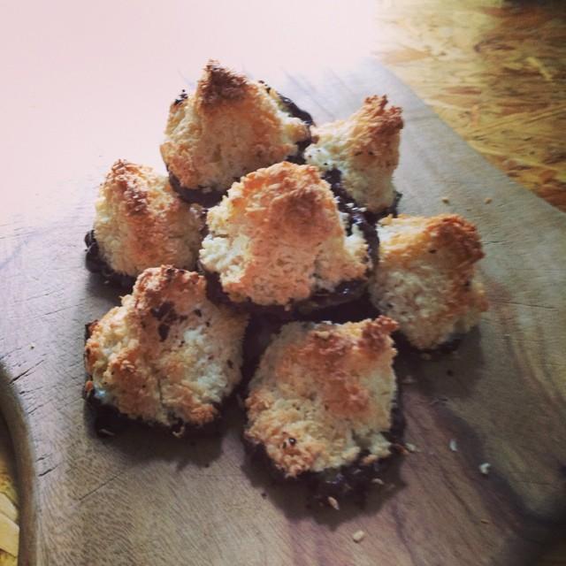 Kokosmakroner (Toppe)