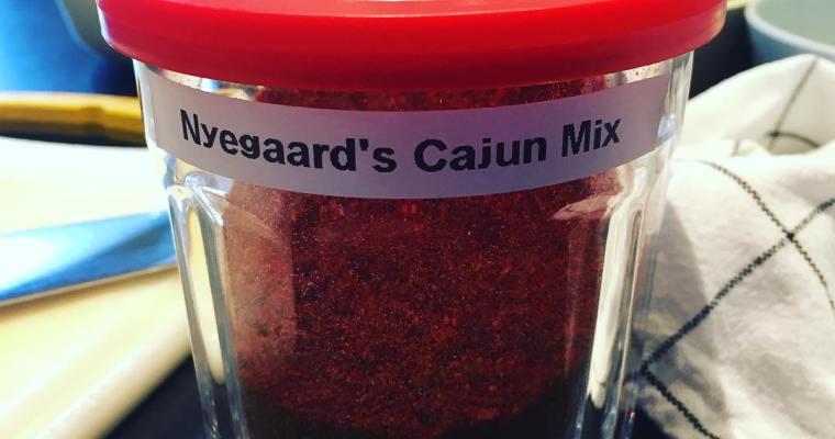 Cajun krydderi Mix