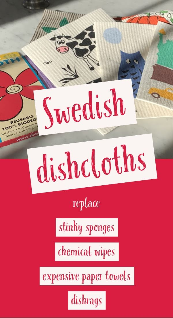 swedish dishcloths biodegradable eco-friendly replace sponges paper towels