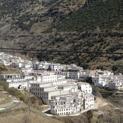 Trevelez in Sierra Nevadas