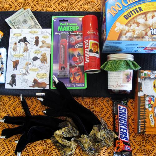 College Care Package for the Girl: Late Fall /Halloween