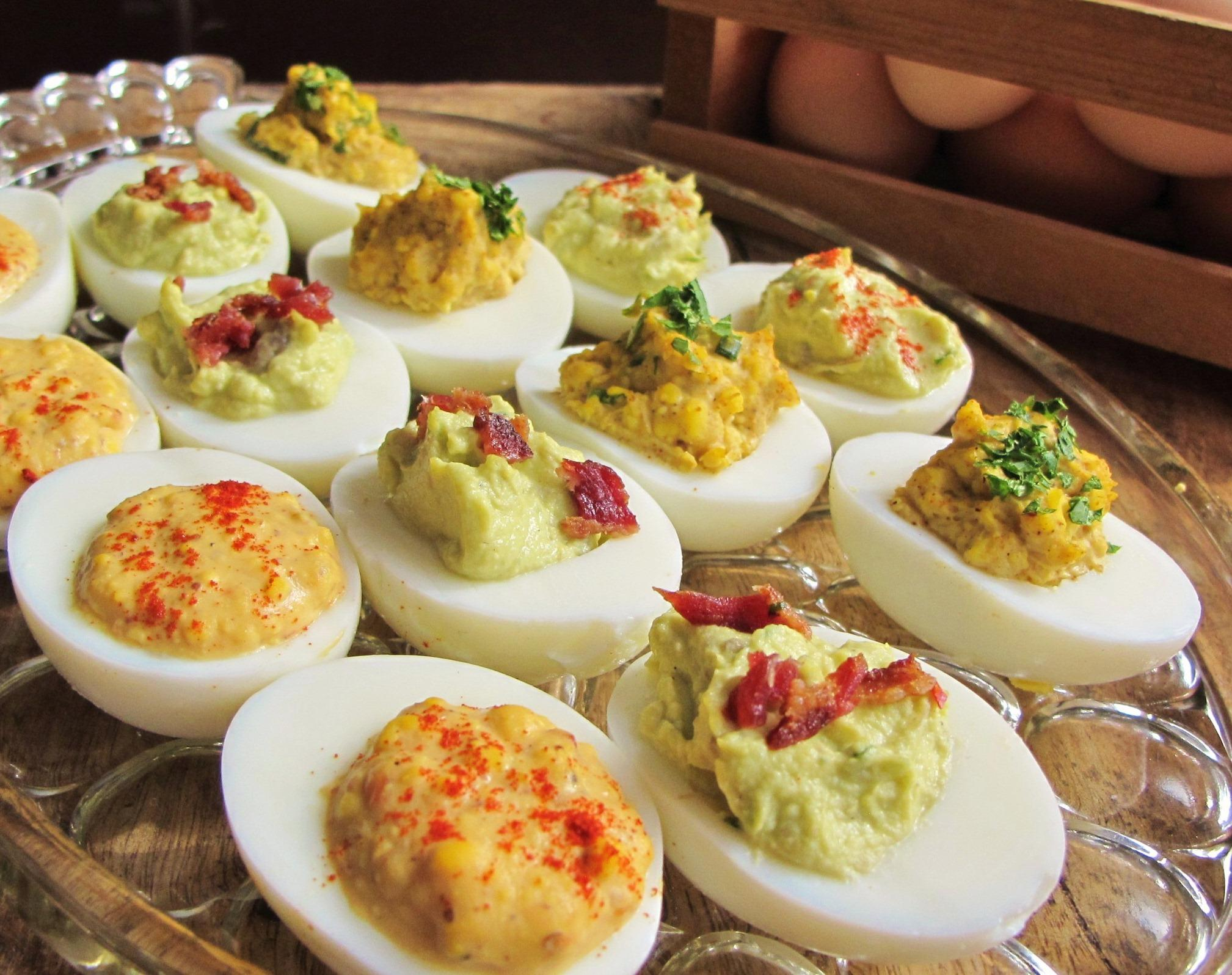 Deviled Eggs - Three ways