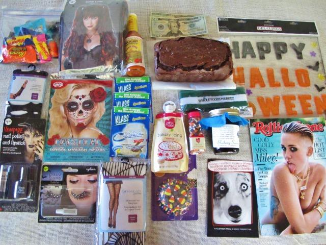 Halloween College Care Package for the Girl - 2013