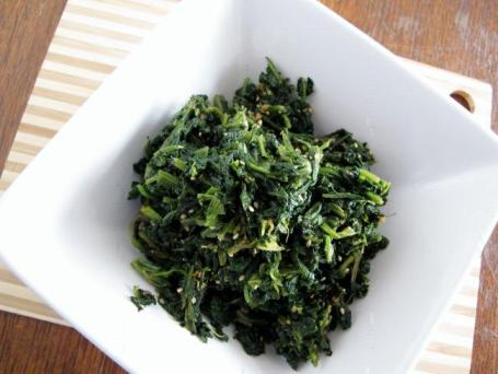 low carb side dishes - spinach