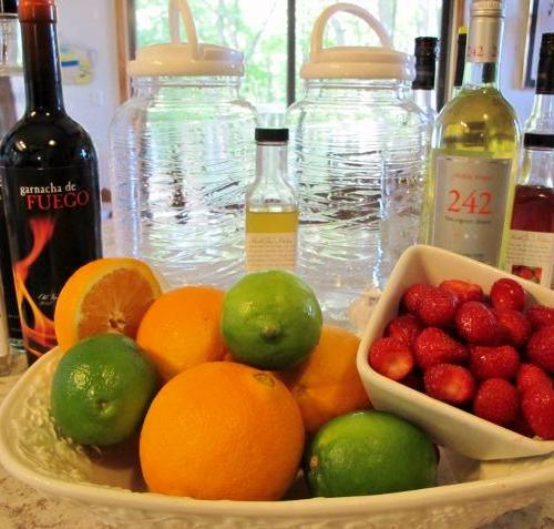 White Sangria for summer