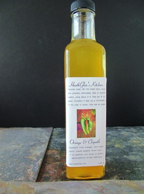 low carb shrub syrup