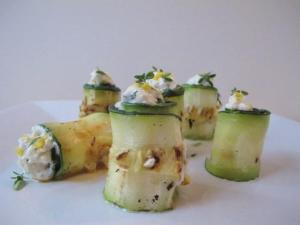 Zucchini Cream Cheese Roll-ups