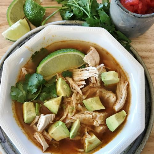 Chicken Lime Soup