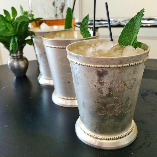 Mint Juleps for Kentucky Derby Day