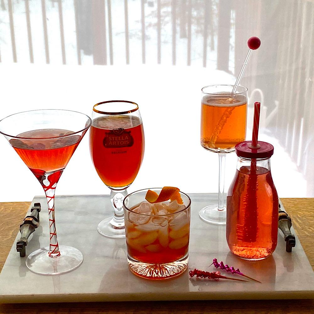 5 red drinks for Valentine's Day