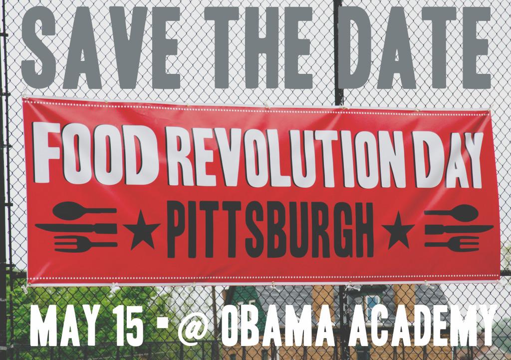 May 15: Food Revolution Day