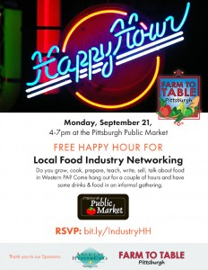 Food Industry Free Happy Hour